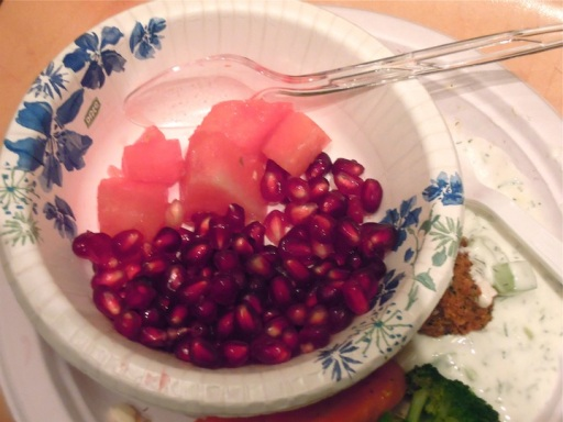 watermelon and pomegranate for Yalda