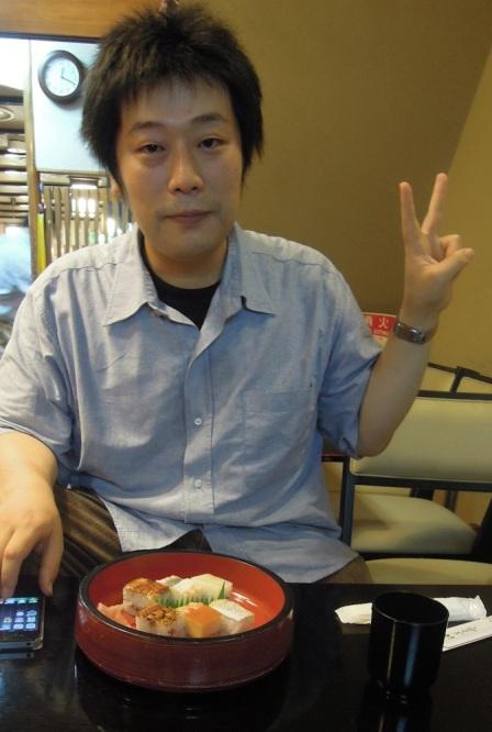 My Osaka sushi guide, Koichi-san