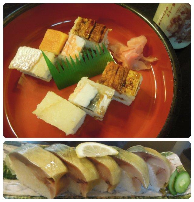 Osaka sushi Collage
