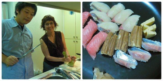 sushi maniac Collage